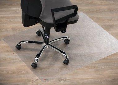 Stoelmat harde vloer Polycarbonaat recht transparant