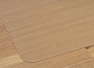 Stoelmat harde vloer Polycarbonaat recht transparant 150x120cm