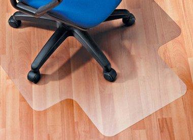Stoelmat harde vloer PVC met lip voor bescherming van uw vloer