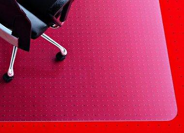 Rexel Polycarbonaat stoelmat tapijt recht groot